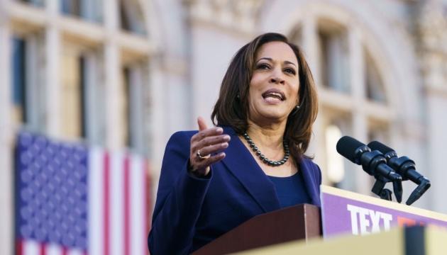 Камала Харрис ушла с должности сенатора, чтобы стать вице-президентом США