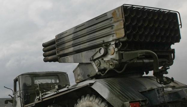 ОБСЕ обнаружила 22 неотведенных «Града» на оккупированной Луганщине