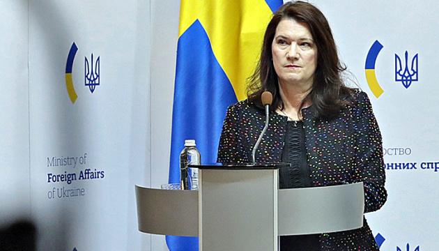 Przewodnicząca OBWE Linde przybyła na Ukrainę z dwudniową wizytą