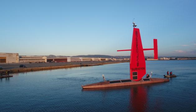 У США представили морський «безпілотник-вітрильник»