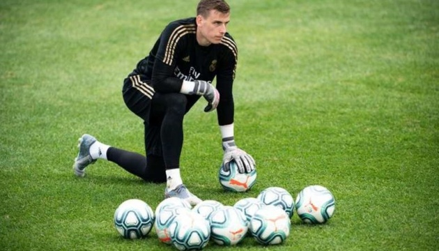Lunin may leave Real Madrid again