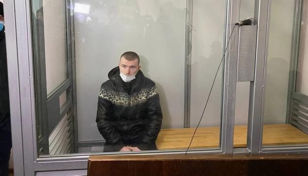 Обвинувачений у вбивстві 11-річної Дарини Лук'яненко порізав собі горло у залі суду