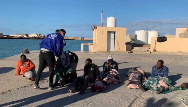 Поблизу узбережжя Лівії затонуло судно з мігрантами, понад 40 людей загинули
