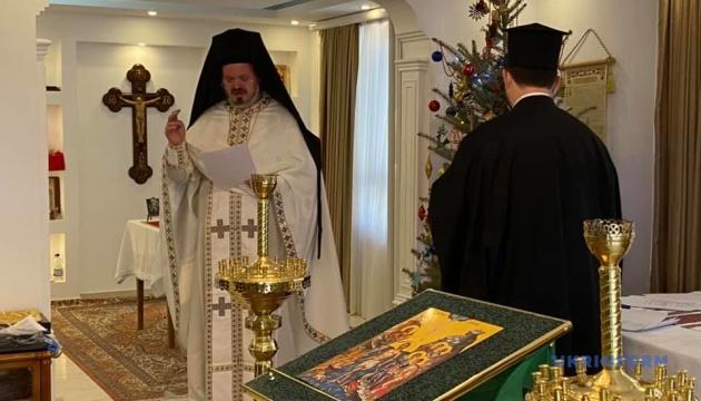 В Анкарі на Водохреще відслужили літургію українською