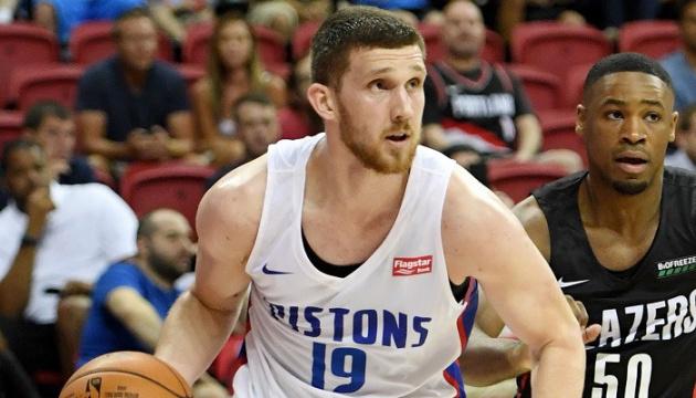 НБА: «Детройт» Михайлюка обыграл «Лейкерс»