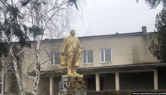 На Одещині демонтували один із останніх пам'ятників Леніну