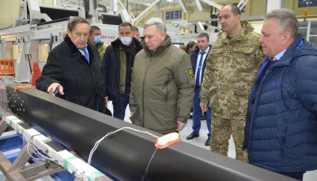 Міністр оборони проінспектував виконання замовлень запорізькими підприємствами ОПК