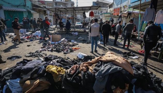 Масштабний теракт у Багдаді: смертник вдав хворого, щоб люди підійшли ближче