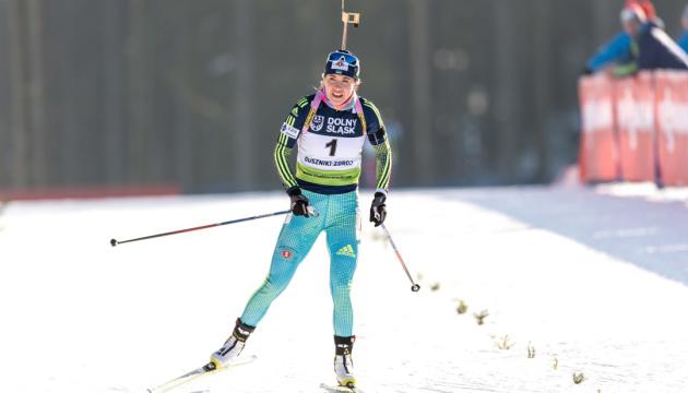 Юлия Джима выиграла «серебро» в индивидуальной гонке Кубка мира по биатлону