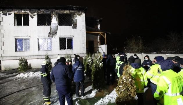 Пожар в доме престарелых: в харьковском хосписе умер один из спасенных