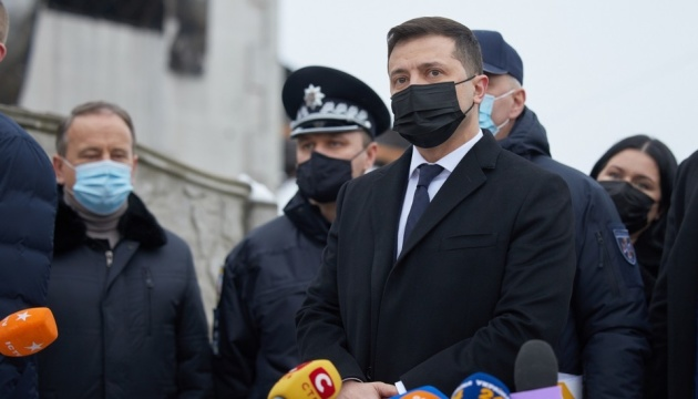 Зеленский объявит 23 января Днем траура в связи с трагедией в Харькове