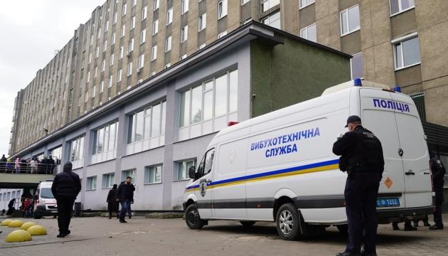 У Львові «мінували» лікарню швидкої допомоги