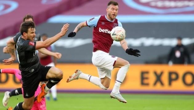 Гол Ярмоленка допоміг «Вест Гему» перемогти в Кубку Англії