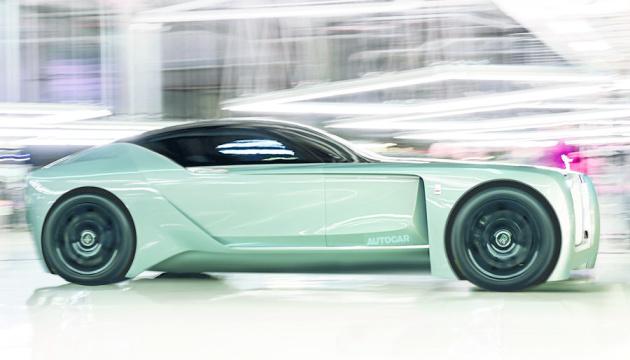 Rolls-Royce анонсировала новый электрокар Silent Shadow