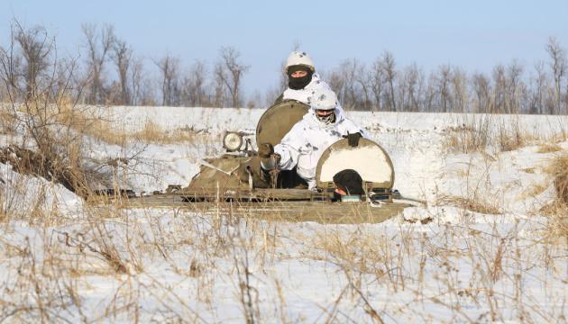 Okupanci w Donbasie wczoraj 3 razy naruszyli zawieszenie broni