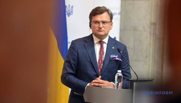 Kuleba: Issues of de-occupation of ORDLO and Crimea should be considered as separate tracks