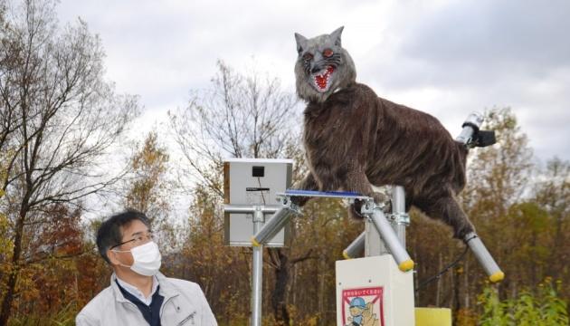 В Японии медведей будет отпугивать робот-монстр, похожий на «чупакабру»