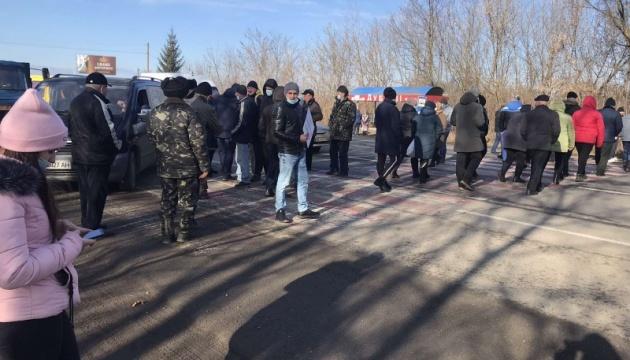 На Буковине снова перекрыли трассу из-за высоких тарифов