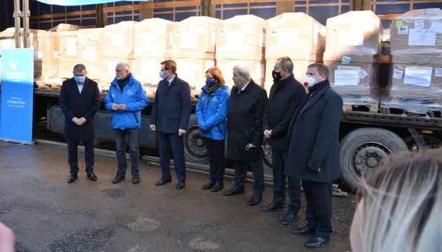 Hungary donates another 50 lung ventilators to Ukraine