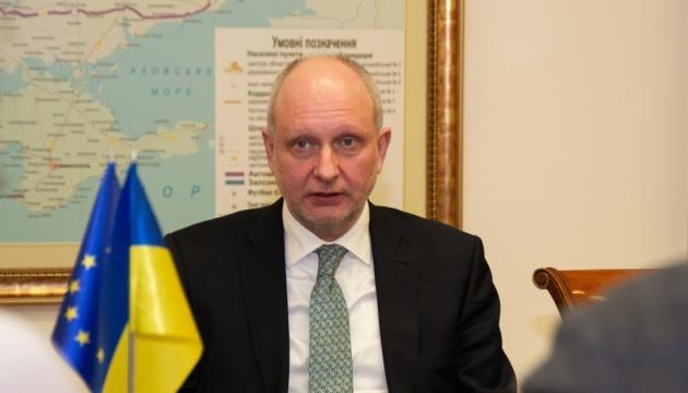 Посол ЕС отметил, что финпомощь Украине зависит от реформы медзакупок