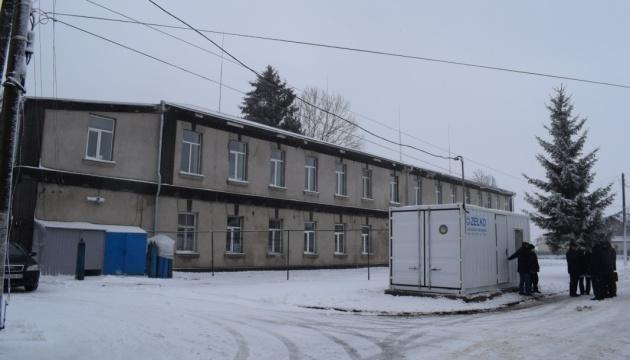 В Новограде-Волынском открыли кислородную станцию для нужд больницы