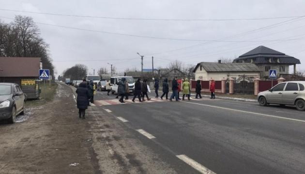 На Буковине снова перекрыли национальную трассу из-за высоких тарифов