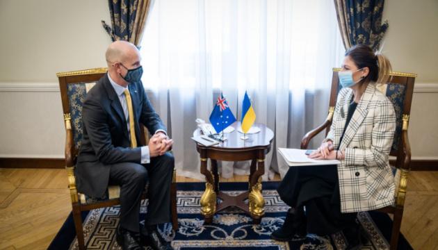 Посол Австралии приветствует намерение Украины создать Крымскую платформу