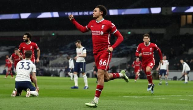 АПЛ: «Ливерпуль» обыграл «Тоттенхэм» и вернулся в топ-4