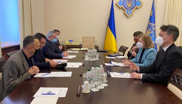 Danilov, Kvien discuss cooperation in countering hybrid threats – NSDC
