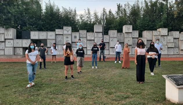 В Аргентині українська молодь вшанувала жертв Голокосту