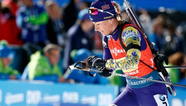 Семеренко стала десятой в спринте на чемпионате Европы по биатлону