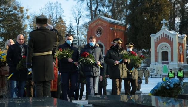 У Львові вшанували пам'ять героїв Крут