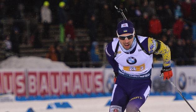 Прима занял шестое место в спринтерской гонке чемпионата Европы по биатлону