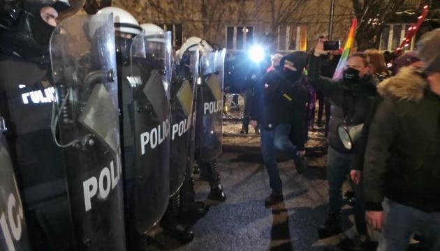 В Польше третий день подряд продолжались протесты против почти полного запрета абортов