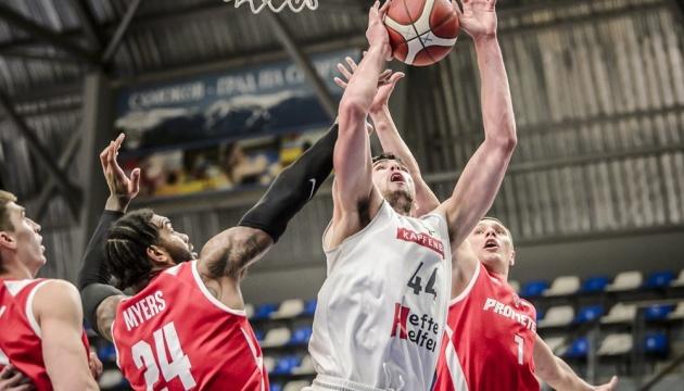 Все украинские клубы пробились в 1/8 финала Кубка Европы FIBA