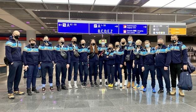 Сборная Украины отправилась в Португалию на матчи отбора женского Евробаскета-2021