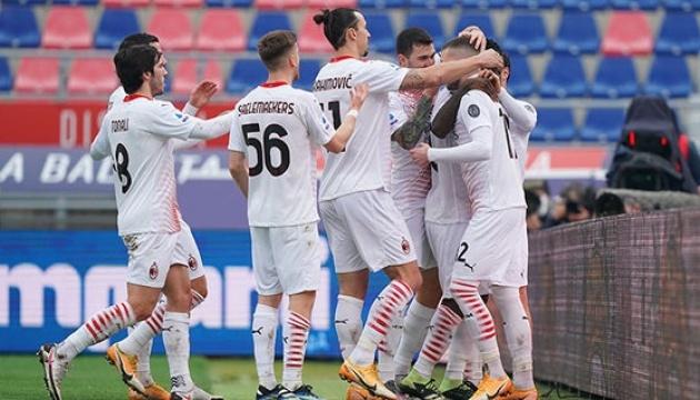 «Милан» обыграл «Болонью» в матче итальянской Серии А