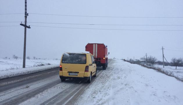 На дорогах Украины пробок нет - ГСЧС