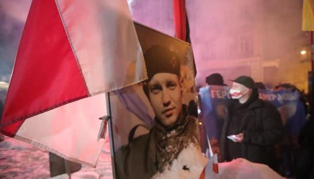 Герой двох народів: у Києві вшанували пам'ять білоруса Жизневського