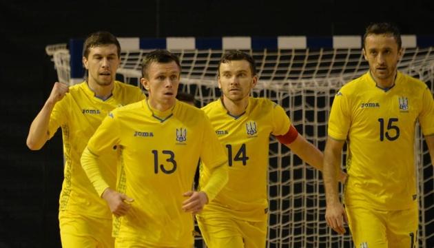 Сборная Украины разгромила албанцев в отборе на Евро-2022 по футзалу