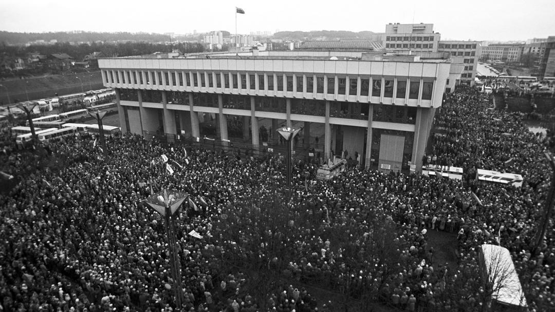 Народні виступи за незалежність Литви і підтримку її парламенту у Вільнюсі, 11 січня 1991 року