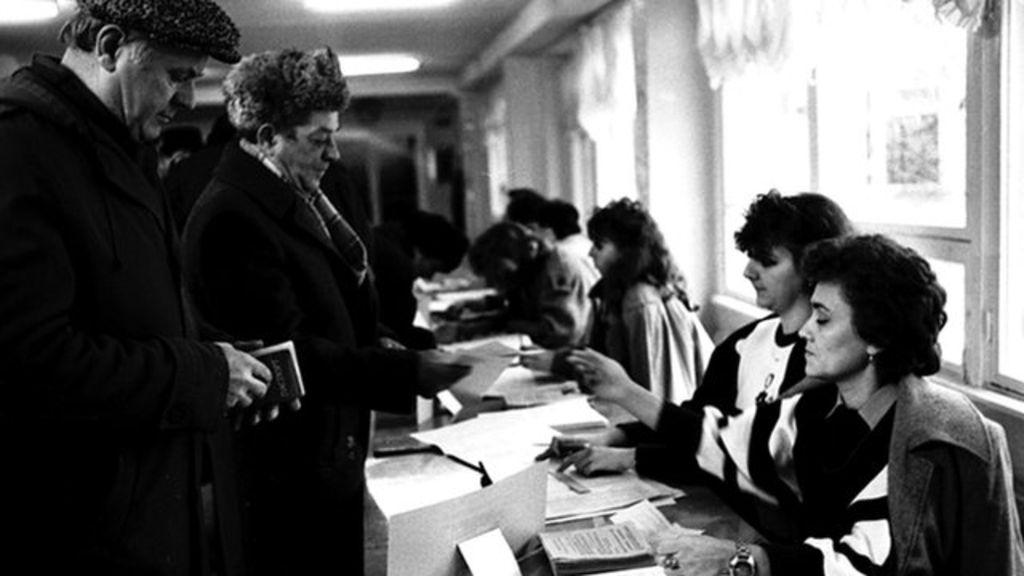 Кримський референдум 1991 року.