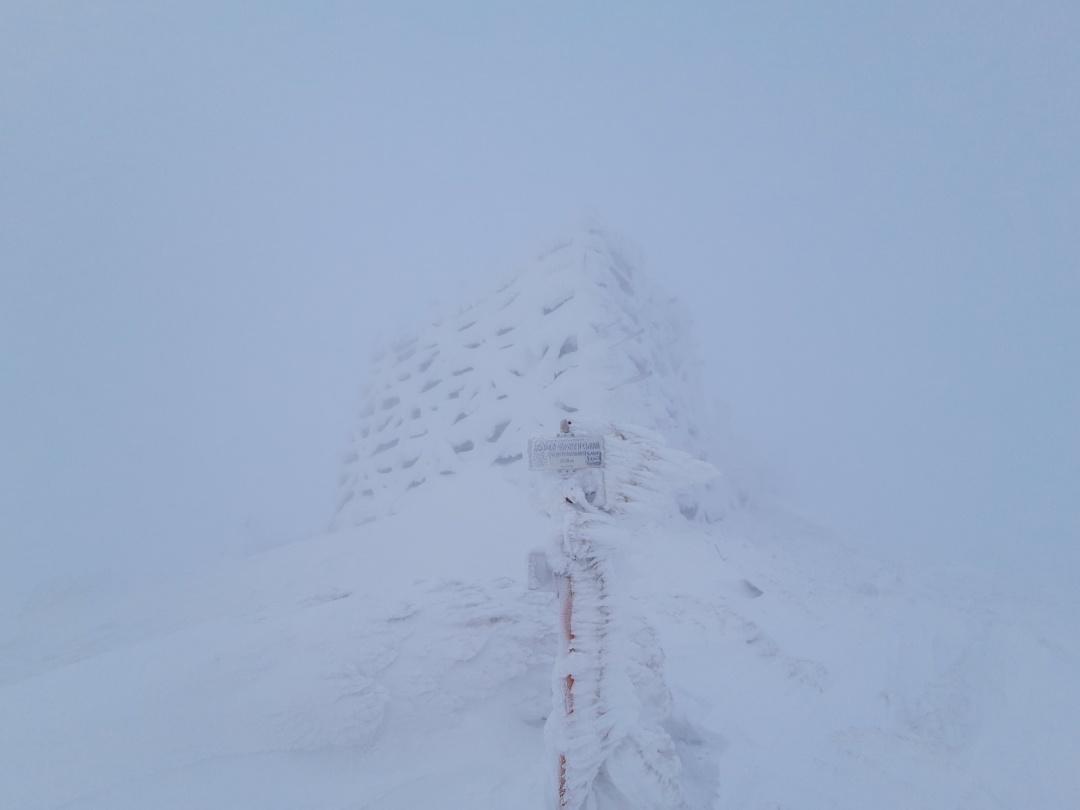 ピープ・イヴァン山 写真:チョルノホラ山岳捜索救出隊