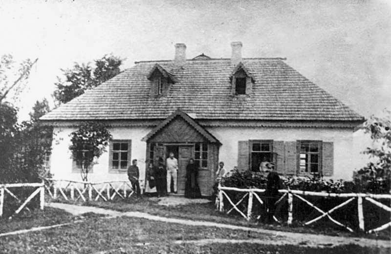 """""""Сірий"""" будинок у Колодяжному_ літо 1899 р."""