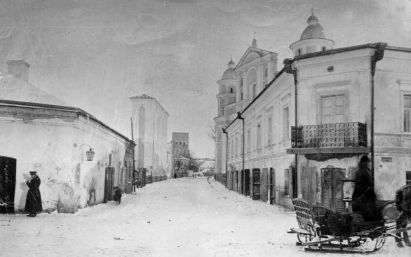 будинок на вулиці Костельній у Луцьку, деу на другому поверсі жила родина Косачів у 1890-1991 рр.