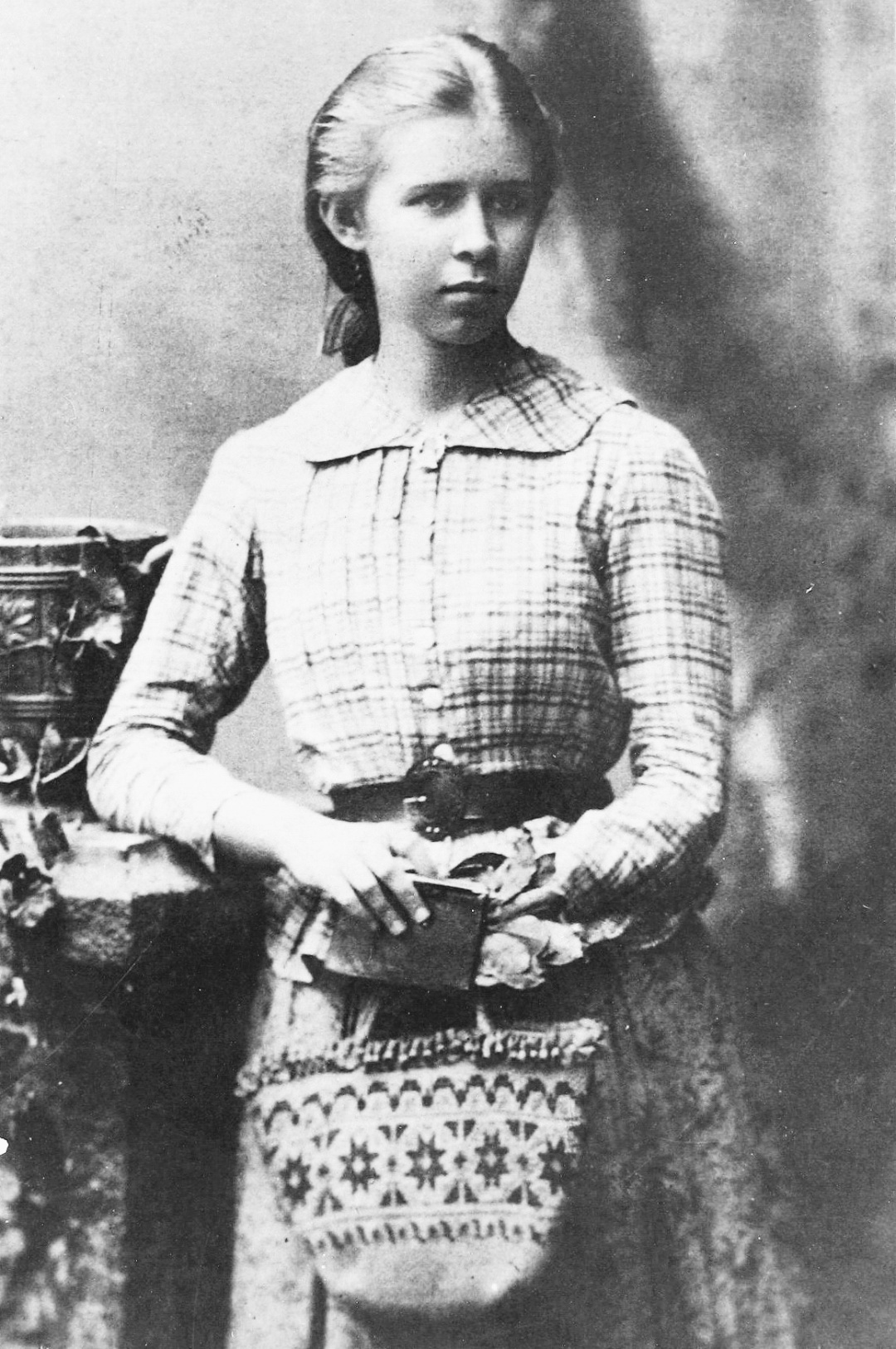 Лариса Петрівна Косач (Леся Українка). Одеса. 1888 р. А