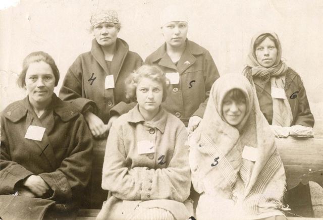 Повії, заарештовані в 20-х роках в Архангельську