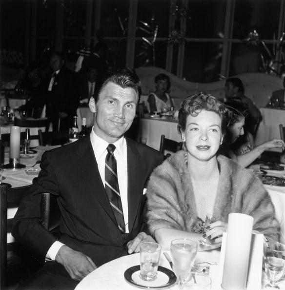 Джек і перша дружина Відржінія, 1949 р.