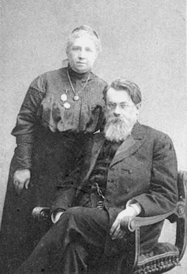 Наталія Єгорівна та Володимир Вернадський після 25 років шлюбу, 1911 р.