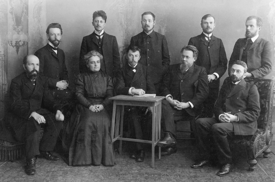 Мінералогічний гурток Московського університету, 1907 р.